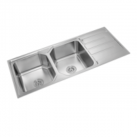 Premio Double Sink With Drainer