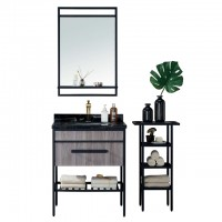 Evans Basin Cabinet with Mirror - EVBC3097