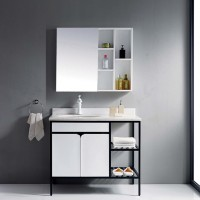 Evans Basin Cabinet with Mirror - EVBC3089