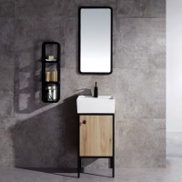 Evans Basin Cabinet with Mirror - EVBC2500