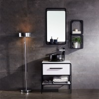 Evans Basin Cabinet with Mirror - EVBC2388