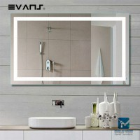 Evans Horizontal LED Bathroom Sharp Corner