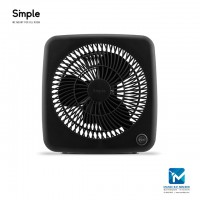 Smple Personal Box Fan with 2 Fan Speed GLYN 7