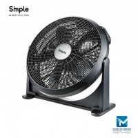 "Smple 20"" Air Circulator with 3 Fan Speed"