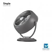 "Smple 8"" Metal Retro Fan With 3 Speed Settings - SMITH"