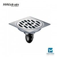 Magdrain Solid Brass Floor Trap Stainless Steel Floor Drain 4 inch P01Q5-B