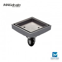 Magdrain Solid Brass Floor Trap Stainless Steel Floor Drain 4 inch FC07Q5-G