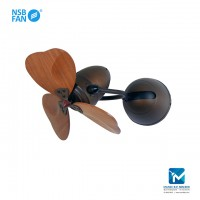 NSB Fino Wall Fan Chic Heart Shape Blade
