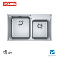 Franke Top mount Sink Bell BCX 620-42-35 Stainless Steel