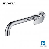 Evans Wall Mounted Single Hole Basin Faucets, Cold Tap